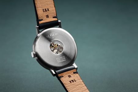 mouvement visible dans la montre