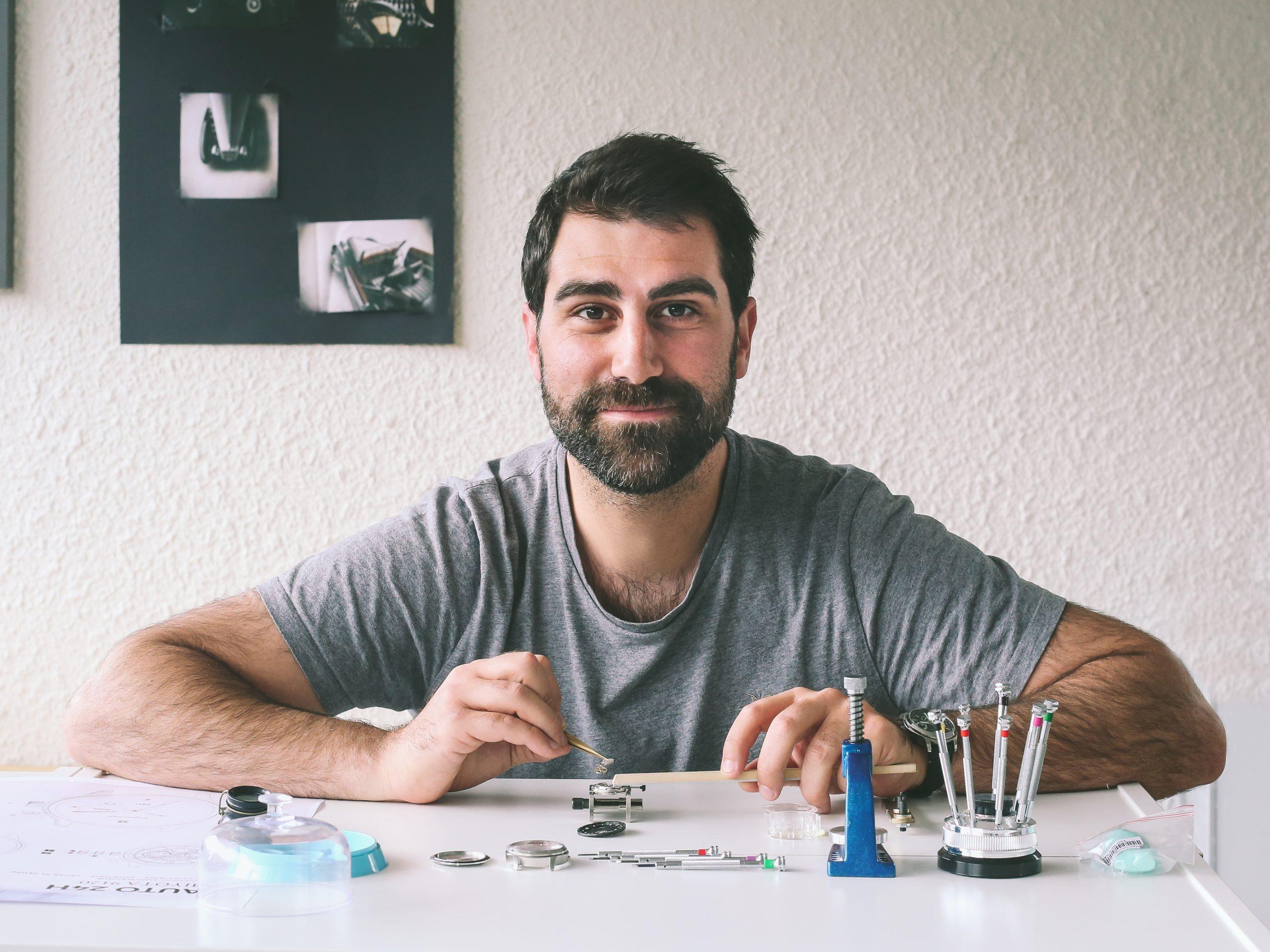 Clément, fondateur de Depancel