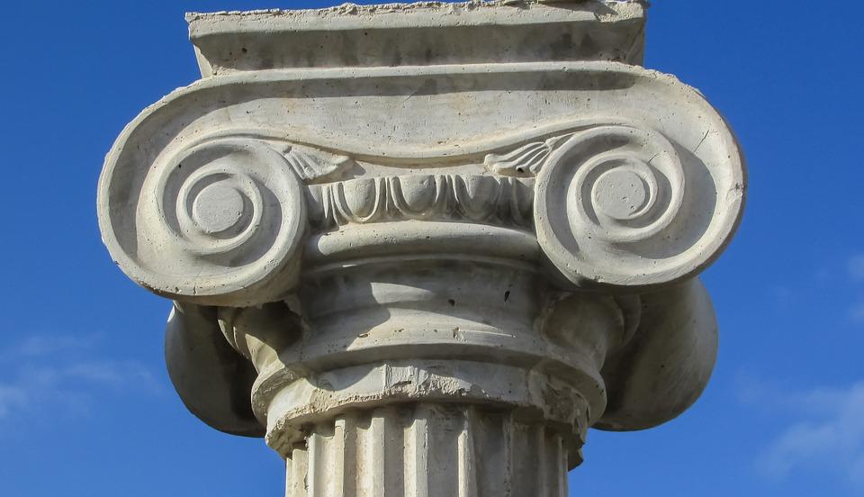 Parmigiani - colonne ionique