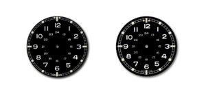 Dessin de création de montre